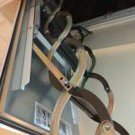 Короб лестницы зафиксирован в проеме