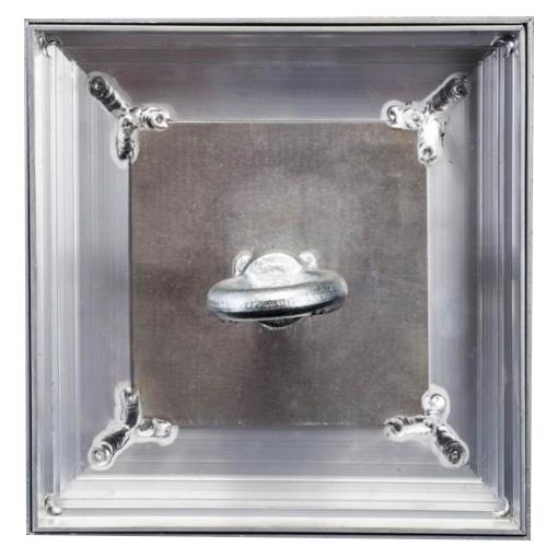 Люк Event ЛНА 600х600 алюминиевый напольный
