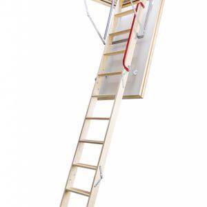 Fakro LTK деревянная утепленная чердачная лестница