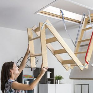 Складные чердачные лестницы