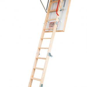 Fakro LTK Energy 4-х секционная складная чердачная лестница