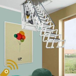 Лестница чердачная с ДУ