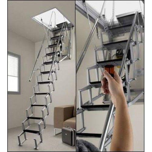 Лестница с ДУ на чердак